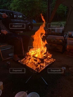 自然,屋外,炎,火,たき火,料理,キャンプファイヤー,熱