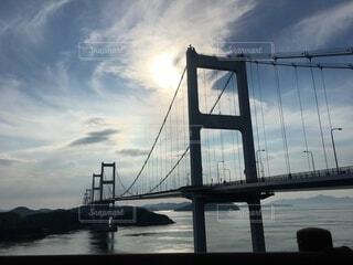 空,橋,屋外,斜張橋