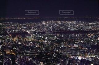 風景,空,建物,夜,夜景,ミニチュア,タワー,都会,高層ビル,眺め,高い