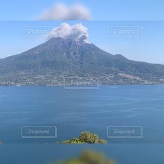自然,空,屋外,湖,雲,水面,山,バック グラウンド