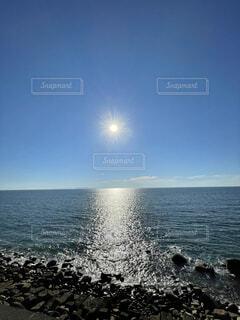 自然,海,空,屋外,湖,太陽,ビーチ,雲,波,水面,日中