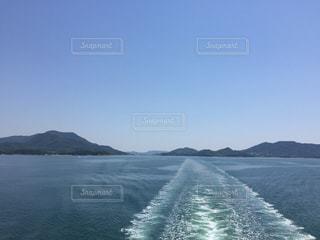 瀬戸内海の船旅の写真・画像素材[2819638]