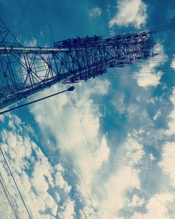 鉄塔と空の写真・画像素材[2905784]