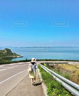 瀬戸内海の豊島にての写真・画像素材[2905809]