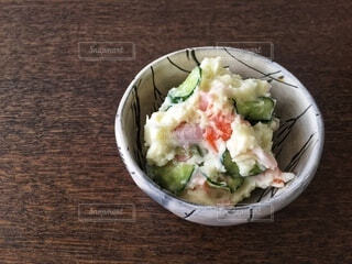 ポテトサラダの写真・画像素材[3904002]