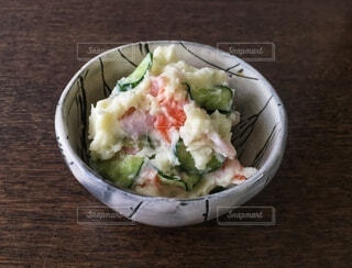 ポテトサラダの写真・画像素材[3904001]