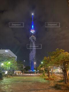 カフェ,夏,夜,夜景,日本,福岡,デート,福岡タワー