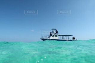 空,屋外,ビーチ,ボート,船,水面,水上バイク