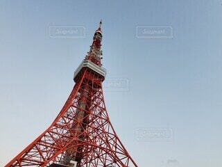 風景,空,建物,東京タワー,屋外,東京,タワー