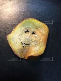 笑顔,チップス,サツマイモ