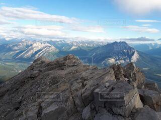ランドルマウンテン山頂の写真・画像素材[4948770]