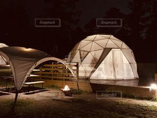 建物,屋外,ドーム,テント,グランピング
