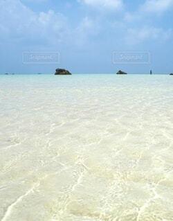 自然,風景,海,空,屋外,湖,ビーチ,雲,島,水面