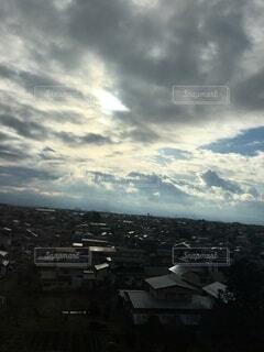 自然,空,建物,屋外,雲