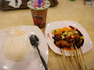 うさぎ,レストラン,料理,おいしい,串焼き,インドネシア,食べもの,サテ,ジャワ,クリンチ,うさぎ肉