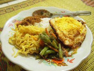 家庭料理,田舎,野菜,卵,料理,おいしい,手作り,インドネシア,食べもの,ジャワ,ミーゴレン