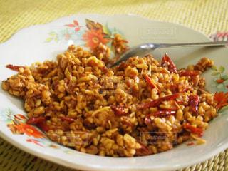 家庭料理,ピーナッツ,手作り,辛い,唐辛子,インドネシア,スラウェシ