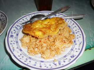 レストラン,卵,料理,おいしい,辛い,揚げもの,インドネシア,食べもの,焼き飯,ナシゴレン,ジャワ,ボゴール