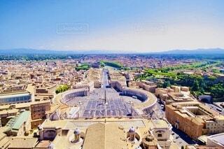 空,建物,絶景,屋外,雲,景色,タワー,都会,イタリア,バチカン市国,ビュー,世界最小の国