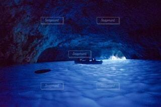 青の洞窟の写真・画像素材[4838657]