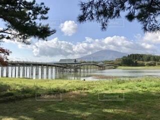 自然,風景,空,湖,雲,綺麗,山,景色,草,草木