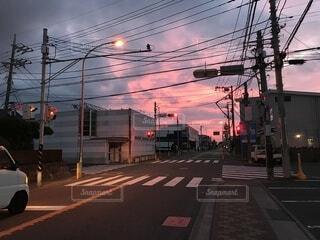 赤信号多めの人生の写真・画像素材[4896644]