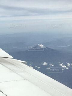 上から見た富士山の写真・画像素材[4900508]