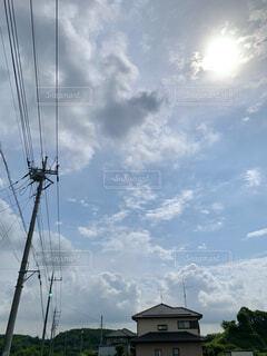 絵みたいな空の写真・画像素材[4843431]