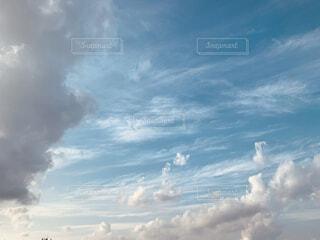 絵にかいた雲の写真・画像素材[4844135]