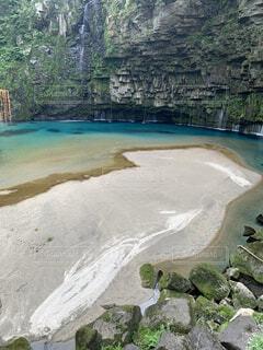 自然,風景,屋外,湖,ビーチ,島,水面,山