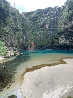 自然,風景,空,屋外,湖,ビーチ,川,水面,山,樹木,谷