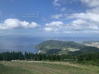 自然,風景,空,屋外,湖,雲,山,景色,草,丘,樹木