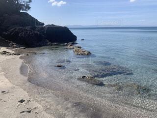 自然,風景,海,空,屋外,湖,ビーチ,水面,海岸,山,地面