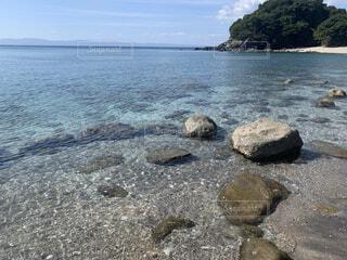 自然,風景,海,空,屋外,湖,ビーチ,砂浜,水面,山,岩,地面