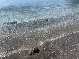 自然,砂,ビーチ,波,水面,海岸