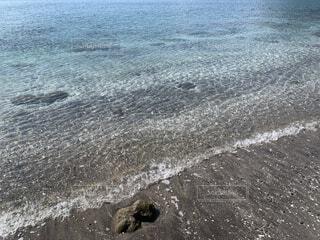 自然,海,屋外,ビーチ,波,水面,海岸