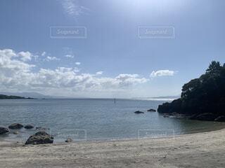 自然,風景,海,空,屋外,湖,ビーチ,雲,水面,海岸,樹木