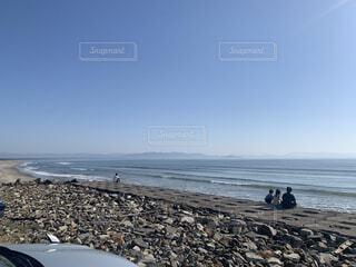 自然,海,空,屋外,サーフィン,砂,ビーチ,波,水面,海岸