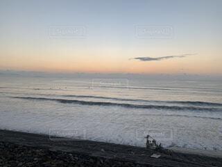 自然,風景,海,空,屋外,サーフィン,ビーチ,雲,波,水面,海岸