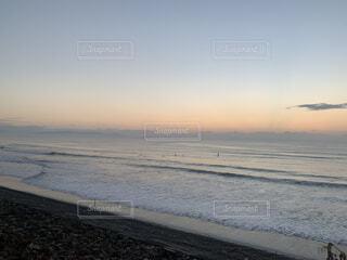 自然,空,屋外,サーフィン,ビーチ,雲,波,水面,海岸