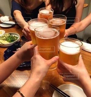 乾杯🍻の写真・画像素材[4859197]