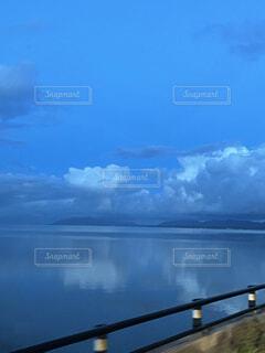 自然,風景,空,屋外,湖,雲,水面