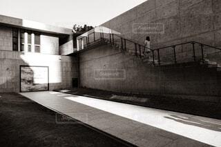 コンクリート建物の写真・画像素材[4852069]