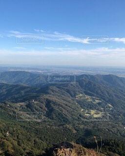 筑波山山頂からの眺めの写真・画像素材[4954217]