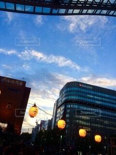 夕暮れ@博多駅の写真・画像素材[4855667]