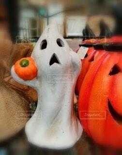 屋内,オレンジ,野菜,10月,ハロウィーン,ゴースト,カボチャ,ghost,スクリーム