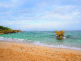 海,綺麗,沖縄,ハート
