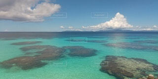 唖然とする海の写真・画像素材[4860594]