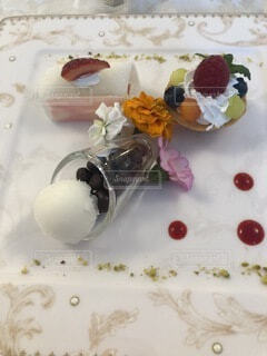 甘いデザートの写真・画像素材[4872856]