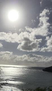 自然,海,空,屋外,ビーチ,雲,水面